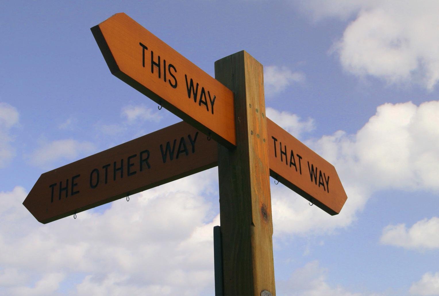Navigation signage